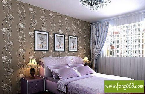 卧室墙纸装修效果图大全2013图片,你知道卧室墙纸什么颜色高清图片