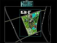 图纸下载 - 园林景观图纸|cad图纸   某校园概念性规划平面