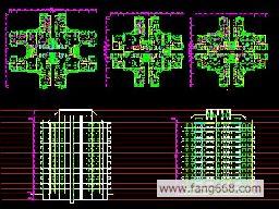 高层住宅平立面图 高层住宅平立面图, 高层住宅平立面图,大高清图片