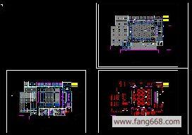 中式餐厅装修设计, 中式餐厅装修设计图纸,大小为342 kb, 类