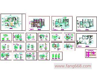 家装设计施工图简介:   室内装修图纸,装修设计图纸,房屋装修